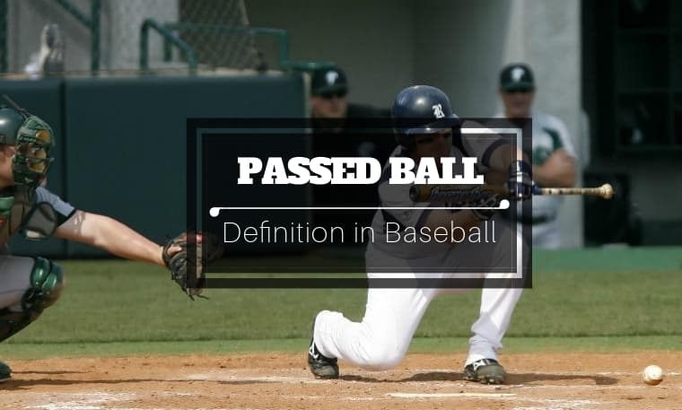 is a passed ball a stolen base
