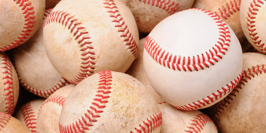 what happens to baseballs used in a game