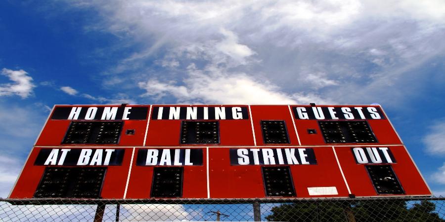 baseball how to score