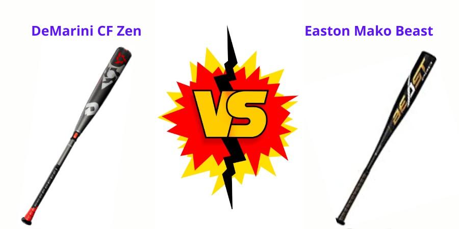 demarini cf zen vs easton mako beast
